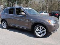 BMW CERTIFIED- Warranty thru 12/05/2017 or 100,000