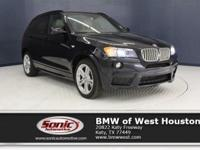 This Certified Pre-Owned 2014 BMW X3 xDrive35i is a One