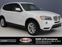 This Certified Pre-Owned 2014 BMW X3 xDrive35i comes