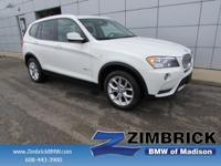 Options:  2014 Bmw X3-Series Awd 4Dr Xdrive35i|4-Wheel