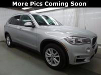 2014 BMW X5 xDrive35d Glacier Silver Metallic