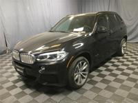 BMW Certified and Black w/Dakota Leather Upholstery.