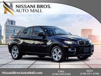CARFAX One-Owner. Clean CARFAX. Black 2014 BMW X6