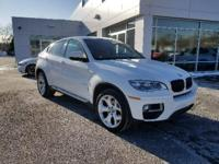 CARFAX One-Owner. Certified. Alpine White 2014 BMW X6