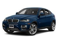 This Certified Pre-Owned 2014 BMW X6 xDrive 35i is a