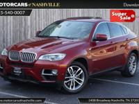 This 2014 BMW X6 4dr xDrive50i features a 4.4L V8 DOHC