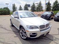 Make a bold statement in our One Owner 2014 BMW X6