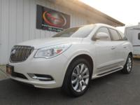 FREE POWERTRAIN WARRANTY! LOADED UP PEARL WHITE BUICK