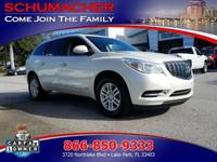 Options:  2014 Buick Enclave 1Sd| |Driver Inboard