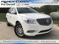 Options:  2014 Buick Enclave Leather|White