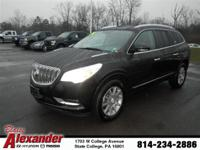 2014 Buick Enclave Leather. Serving Lewisburg,