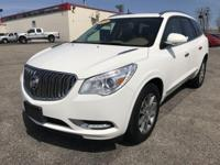 2014 BUICK ENCLAVE LEATHER INTERIOR AWD. WITH 18993.