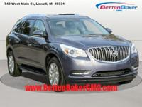 Options:  2014 Buick Enclave Fwd 4Dr Leather|4-Wheel