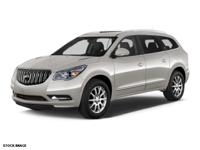 2014 Buick Enclave with Leather Seats, Aluminum Wheels,
