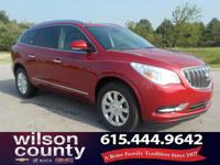 2014 Buick Enclave Leather Group 3.6L V6 SIDI DOHC VVT