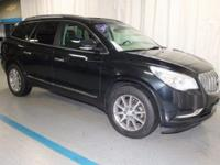 2014 Buick Enclave Leather Group Black Certified. Just