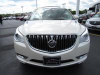 Options:  2014 Buick Enclave Premium|White|Gm Factory