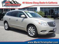 EPA 24 MPG Hwy/17 MPG City! Buick Certified, ONLY