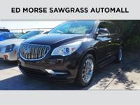 Buick Certified, CARFAX 1-Owner. EPA 24 MPG Hwy/17 MPG