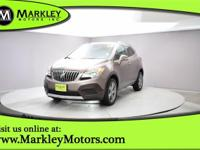 Our Carfax One Owner 2014 Buick Encore AWD crossover on
