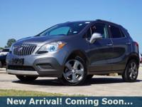 2014 Buick Encore SUV in Satin Steel Gray Metallic,
