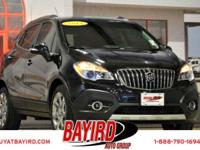 Check out this gently-used 2014 Buick Encore we