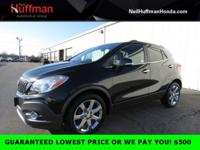 Carbon Black Metallic 2014 Buick Encore Leather FWD