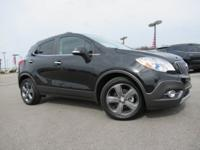 CARFAX One-Owner. Clean CARFAX. Black 2014 Buick Encore