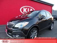 2014 Buick Encore Leather AWD Carbon Black Metallic