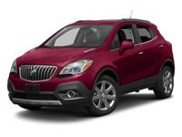 2014 Buick Encore Leather. Turbocharged! All Wheel