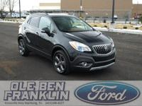 Options:  2014 Buick Encore 4Wd Leather|Carbon Black