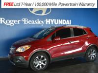 Take command of the road in the 2014 Buick Encore! It