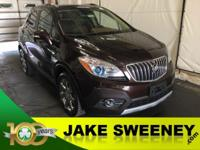 Our One Owner 2014 Buick Encore crossover on display in