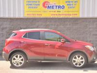 Ruby Red Metallic 2014 Buick Encore Premium AWD!!! AWD