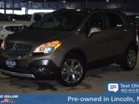 This Buick Encore has a powerful Turbocharged I4 1.4/83