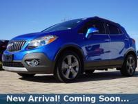 2014 Buick Encore Premium in Brilliant Blue Metallic,
