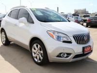 Options:  2014 Buick Encore Premium|White|Turbo! Don't