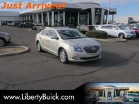 Clean CARFAX. 2014 Buick LaCrosse FWD 6-Speed Automatic