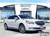 New Price! Summit White 2014 Buick LaCrosse FWD 6-Speed