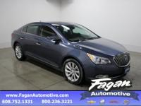 New Price! Atlantis Blue Metallic 2014 Buick LaCrosse
