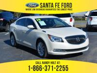 *2014 Buick LaCrosse* - Sedan - V6 3.6L Engine - remote