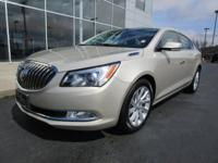 Recent Arrival! 2014 Buick LaCrosse Leather Group