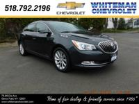 Luxury greets you with our 2014 Buick LaCrosse Leather
