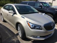 New Price! 2014 Buick LaCrosse Leather Group Champagne