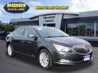 Recent Arrival! Smoky Gray Metallic 2014 Buick LaCrosse