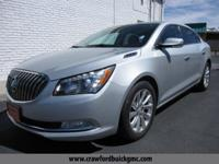 Silver 2014 Buick LaCrosse Leather Group FWD 6-Speed