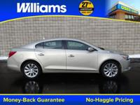 Options:  2014 Buick Lacrosse Leather