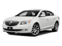 2014 Buick LaCrosse Leather Group Clean CARFAX. Vehicle