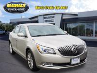 This 2014 CHAMPAGNE SILVER METALLIC Buick LaCrosse with