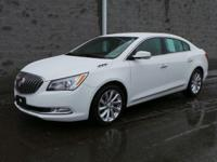Classy White! Isn't it time for a Buick?! Looking for